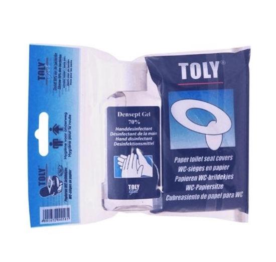 Toly Densept gel 70% met WC brildekjes afbeelding