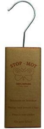 Stop Mot Cederhout kasthanger afbeelding