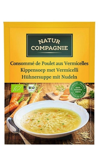 Natur Compagnie Kippensoep met vermicelli afbeelding