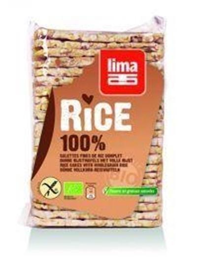 Lima Rijstwafels zout dun recht afbeelding