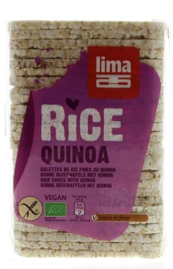Lima Rijstwafels recht dun quinoa afbeelding