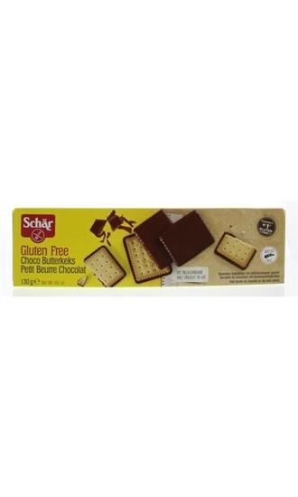 DR Schar Butterkeks (biscuit) chocolade afbeelding