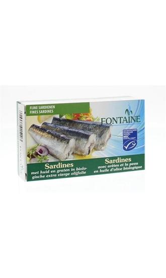 Fontaine Sardines met huid en graat afbeelding