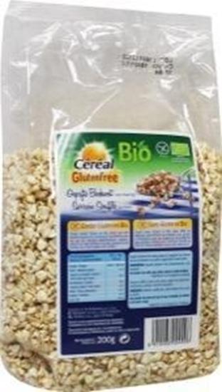 Cereal Ontbijt gepofte boekweit honing bio glutenvrij afbeelding