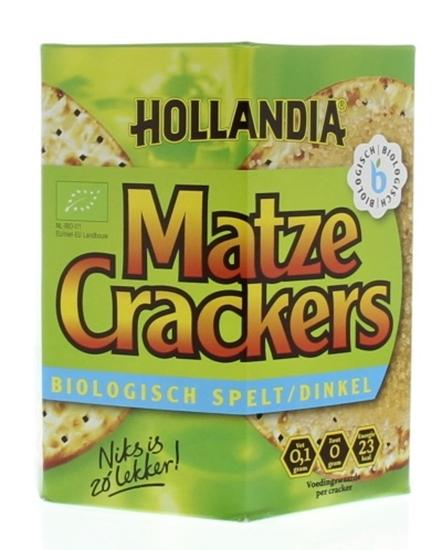 Hollandia Matze cracker spelt afbeelding