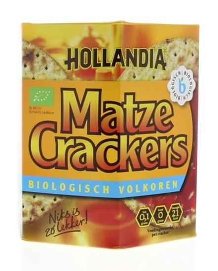 Hollandia Matze cracker volkoren afbeelding