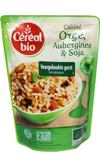 Cereal Stoofpotje van gierst aubergines en soja afbeelding