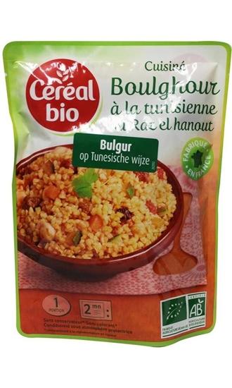 Cereal Soy quinoa bulgur indische wijze afbeelding