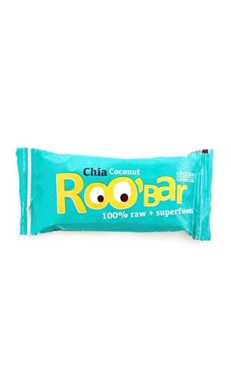 Roo Bar Chia & coconut 100% raw afbeelding