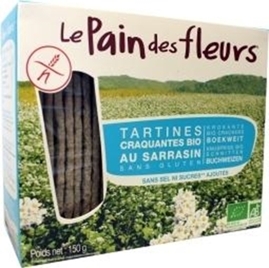 Pain Des Fleurs Boekweit crackers zonder zout afbeelding