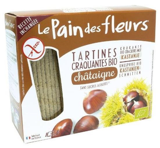 Pain Des Fleurs Tamme kastanje crackers afbeelding