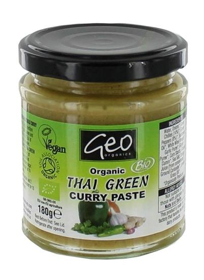 Geo Organics Curry paste thai green afbeelding