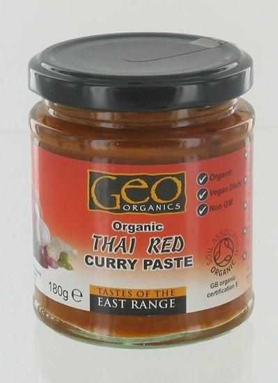 Geo Organics Curry paste thai red afbeelding