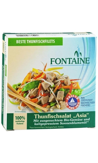 Fontaine Aziatische tonijnsalade afbeelding