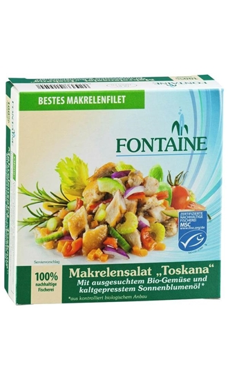 Fontaine Toscaanse makreel salade afbeelding