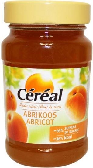 Cereal Fruitbeleg abrikoos suikervrij afbeelding