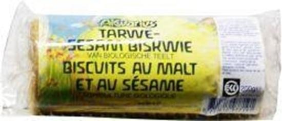 Akwarius Tarwe-sesam biskwie afbeelding