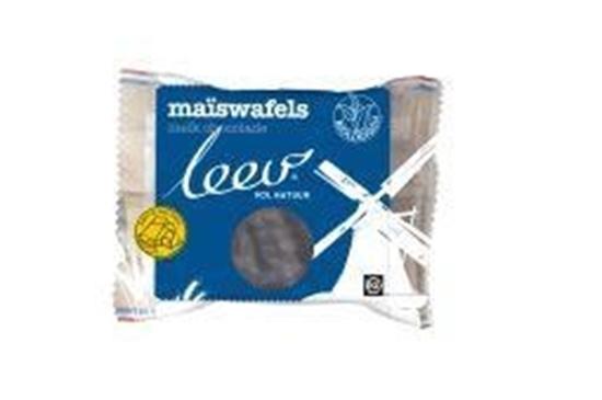 Leev Bio choco maiswafels melk afbeelding