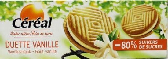 Cereal Duette vanille suikervrij afbeelding