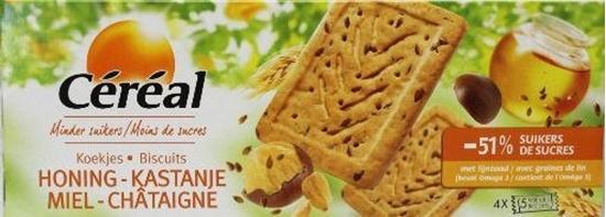 Cereal Koekjes honing/kastanje afbeelding