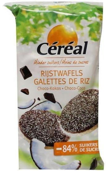 Cereal Choco rijstwafels cocos afbeelding