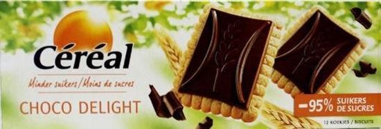 Cereal Koek choco delight minder suikers afbeelding