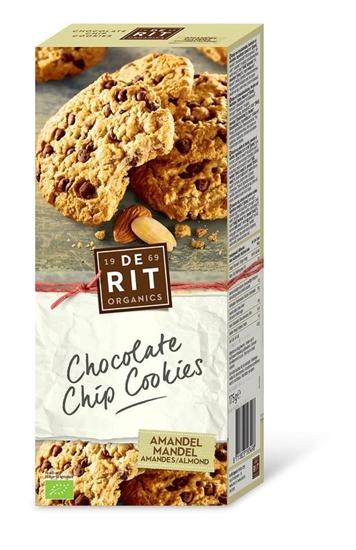 De Rit Chocolade koekjes amandel afbeelding
