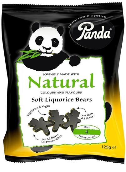Panda Dropbeertjes afbeelding