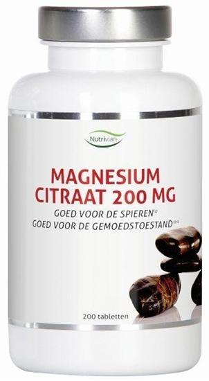 Nutrivian Magnesium citraat 200 mg afbeelding