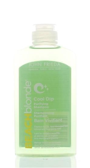 John Frieda Beach blond shampoo cool dip purifying afbeelding