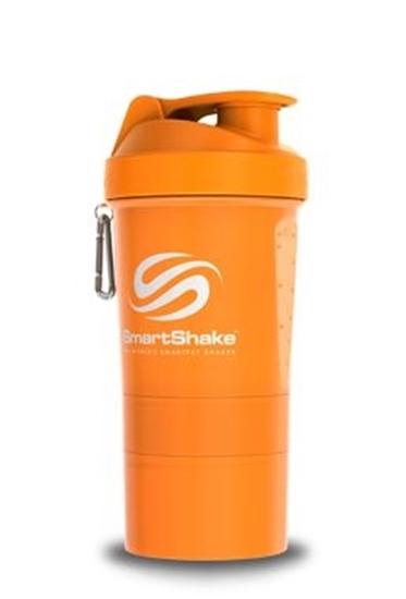 Liever Gezond Smartshake neon orange 600 ml afbeelding