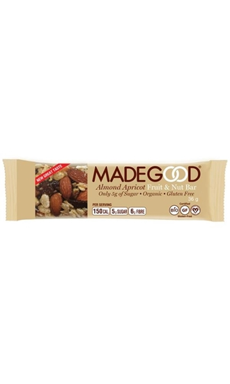 Made Good Fruit & nut bar raw almond apricot afbeelding