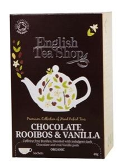 English Tea Shop Rooibos chocolate & vanilla afbeelding