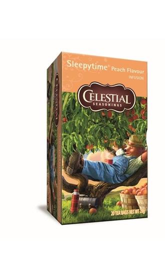 Celestial Season Sleepytime peach herb tea afbeelding