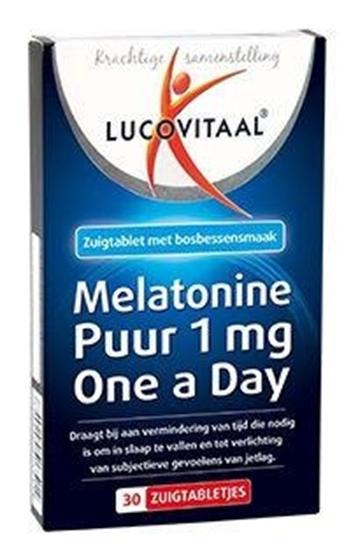 Lucovitaal Melatonine 1 mg afbeelding