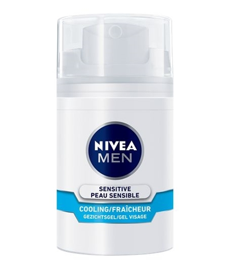 Nivea Men sensitive cooling gezichtsgel afbeelding