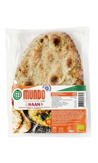 O Mundo Naanbrood knoflook / koriander afbeelding