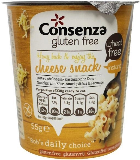 Consenza Instant macaroni met kaas afbeelding