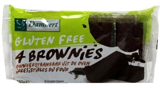 Damhert Brownies glutenvrij afbeelding