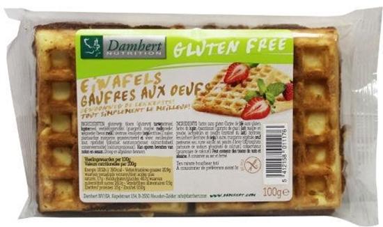 Damhert Eiwafels glutenvrij afbeelding