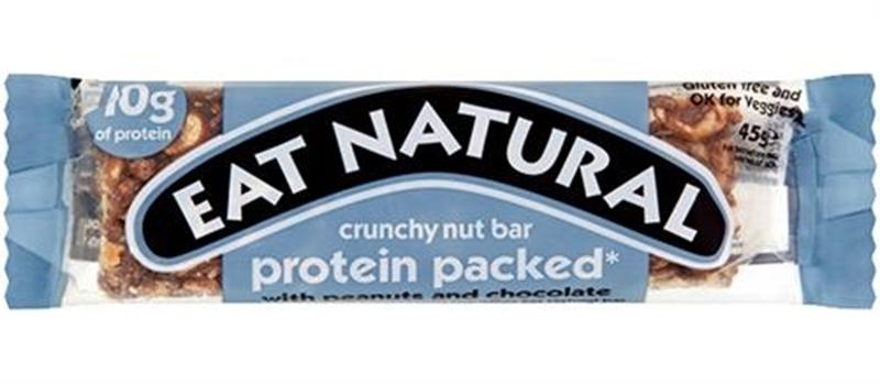 Eat Natural Protein Packed met pinda's en chocolade afbeelding