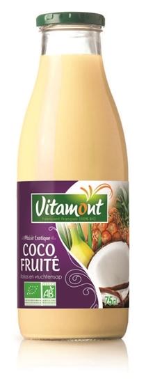 Vitamont Kokos vruchten cocktail bio afbeelding
