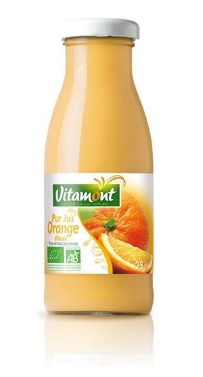 Vitamont Pure sinaasappelsap mini bio afbeelding