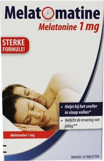 Melatomatine Melatonine 1 mg afbeelding