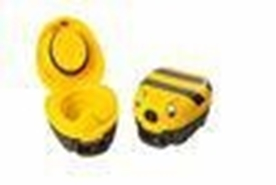 Jippies My carry potty geel met bijtje afbeelding