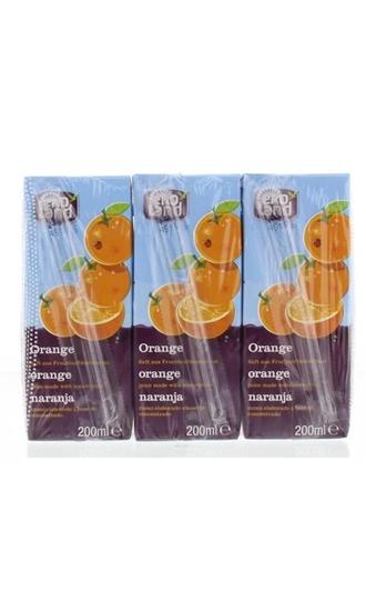 Ekoland Sinaasappelsap 200 ml afbeelding