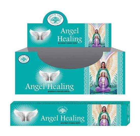 Green Tree Wierook angel healing afbeelding