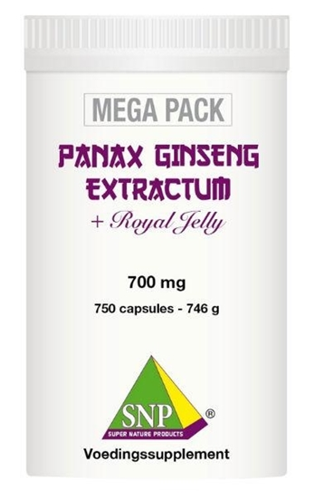 SNP Panax ginseng extract megapack afbeelding