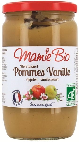 Mamie Bio Appelmoes vanille afbeelding