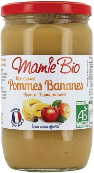 Mamie Bio Appelmoes bananen afbeelding